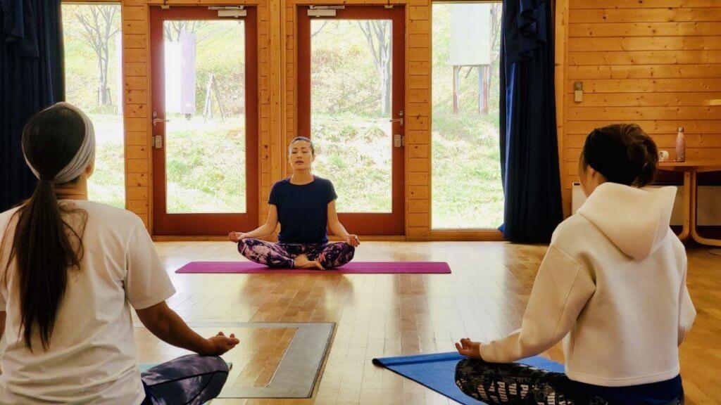Wellness Yoga代表のベイコン綾子